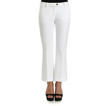 Versace collection women's G35352G600556G1001 white polyester pants