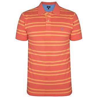 Gant Gant Coral Striped Polo Shirt