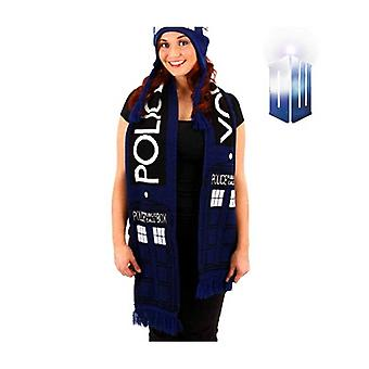 Doctor Who Tardis bufanda