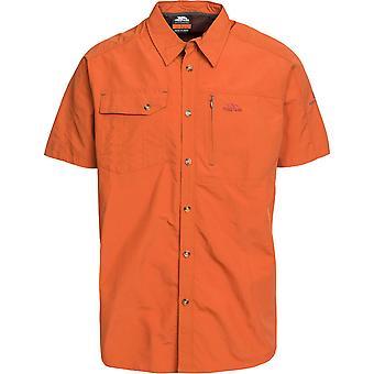 Intrusion Mens Lowrel manches courtes UV protégé chemises marche extérieures