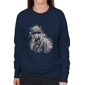 Lee Marvin In The Big Red One 1978 Women's Sweatshirt