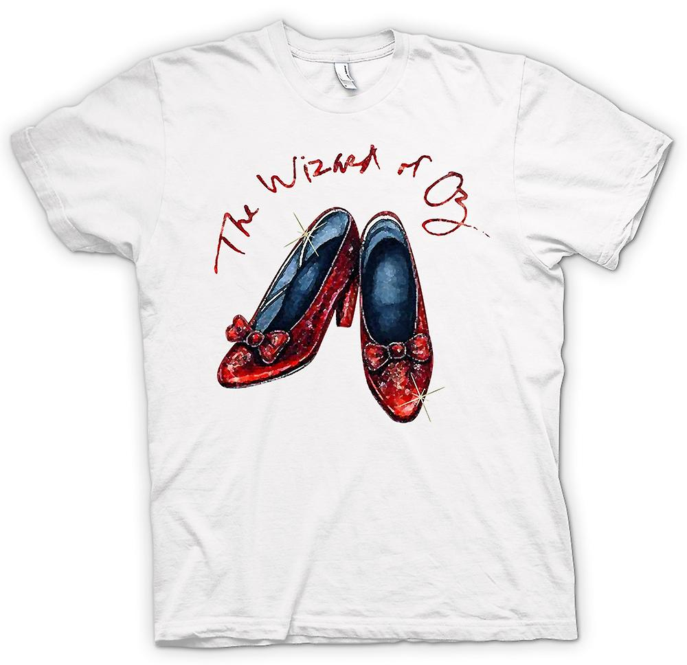 Heren T-shirt - Dorothy Red Shoes - Wizard Of Oz