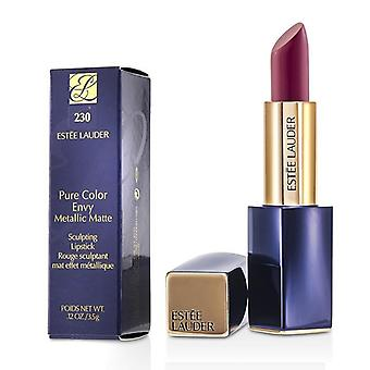 Estee Lauder Pure Color Envy metalen Matte Sculpting Lipstick - # 230 pletten - 3.5g/0.12oz