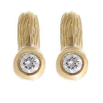 Orphelia argento 925 orecchino oro Zirc ZO-6025/2