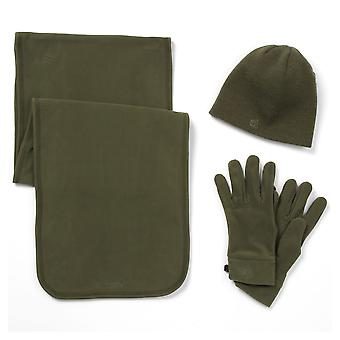 Craghoppers Adults Unisex Essentials II Fleece Hat, Scarf And Glove Set