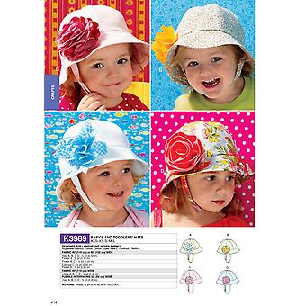 Babies'/Toddlers' Hats- -*SEWING PATTERN*
