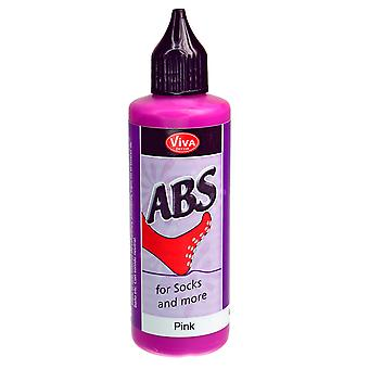Abs Sock Stop Paint 82Ml-Pink