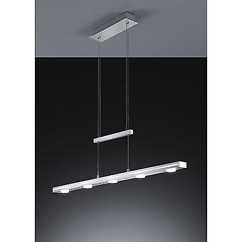 Trio belysning Cavallo Modern borstad Aluminium Aluminium hänge