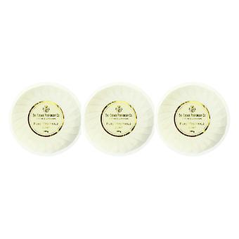 The Crown Perfumery Crown Of Gold PureVegetable Soap 3.5oz Unboxed (Pack of 3)