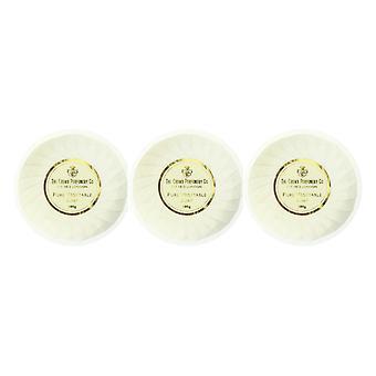 Die Krone-Parfümerie-Krone Gold PureVegetable Seife 3,5 oz ausgepackt (Packung mit 3)
