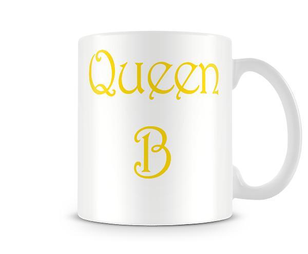 Queen B Printed Mug