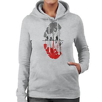 Stranger Things Upside Down Forest Women's Hooded Sweatshirt