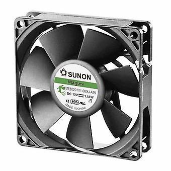 Sunon ME80201V1-000U-A99 Axial fan 12 Vdc 61.16 m³/h (L x b x H) 80 x 80 x 20 mm