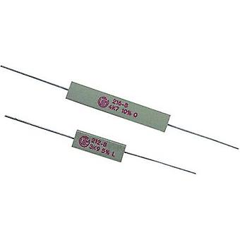 VitrOhm KH208-810B0R10 High power resistor 0.1 Ω Axial lead 5 W 10 % 1 pc(s)