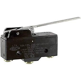 Honeywell Microswitch BZ-2RW80-A2 250 V AC 15 A 1 x On/(On) momentary 1 pc(s)