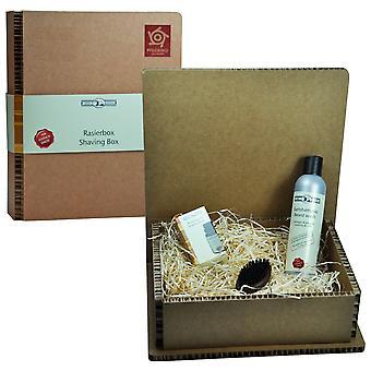 Bartpflege Set in Geschenkbox Geschenkset Bartset Grundpreis Shampoo: 100 ml 20 Euro, Grundpreis Öl: 100 ml 150 Euro
