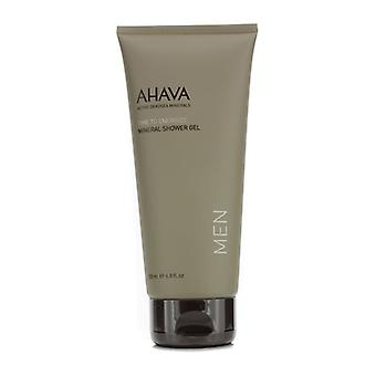 AHAVA tempo para energizar Mineral duche 200ml/6,8 oz do Gel