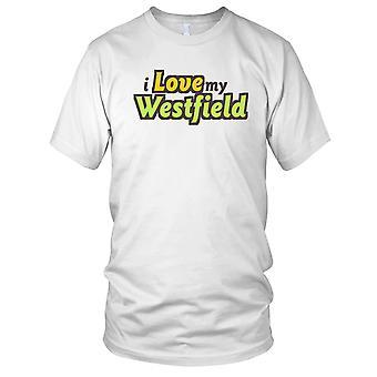 Jeg elsker min Westfield bil barna T skjorte