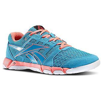 Reebok én træner Bluepunchpinkwhite V60098 universal alle år kvinder sko