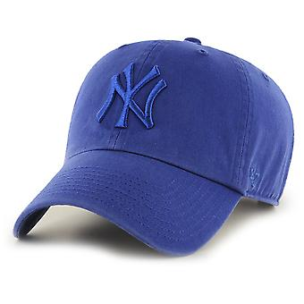 47 fire relaxed fit Cap - CLEAN UP New York Yankees royal