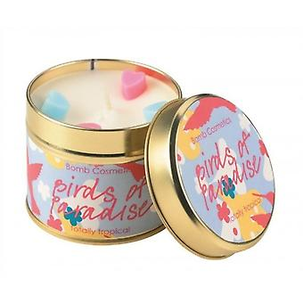 Bomb Cosmetics Candle Tin Birds Of Paradise