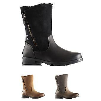 Womens Sorel Emelie Foldover Winter waterdicht sneeuw Fleece Mid kalf laarzen