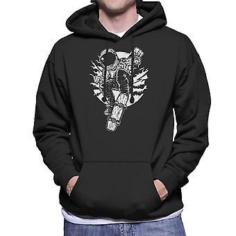 Space Skater Men's Hooded Sweatshirt