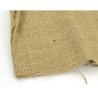 Dark Natural Hessian Section for Crafts - 100cm x 25cm | Fabrics for Crafts