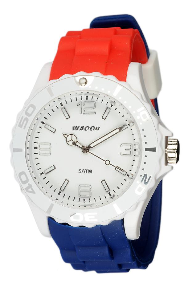 Waooh - Watch Silicone Tricolore French Flag MC42