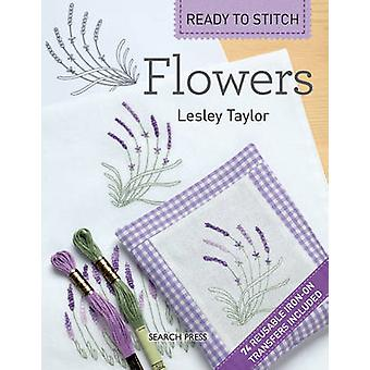 Ready to Stitch - Flowers by Lesley Taylor - 9781844489107 Book