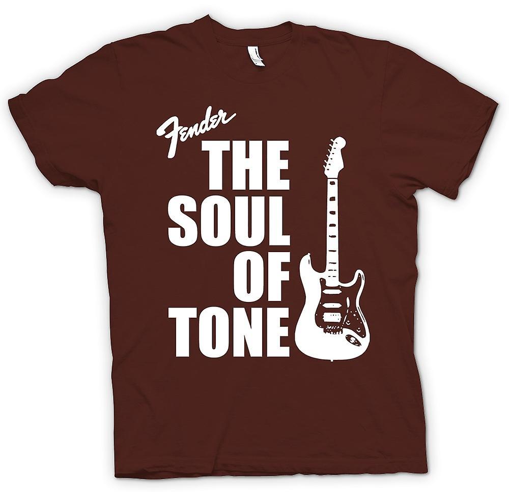 Mens T-shirt - Fender Strat Soul Tone Guitar