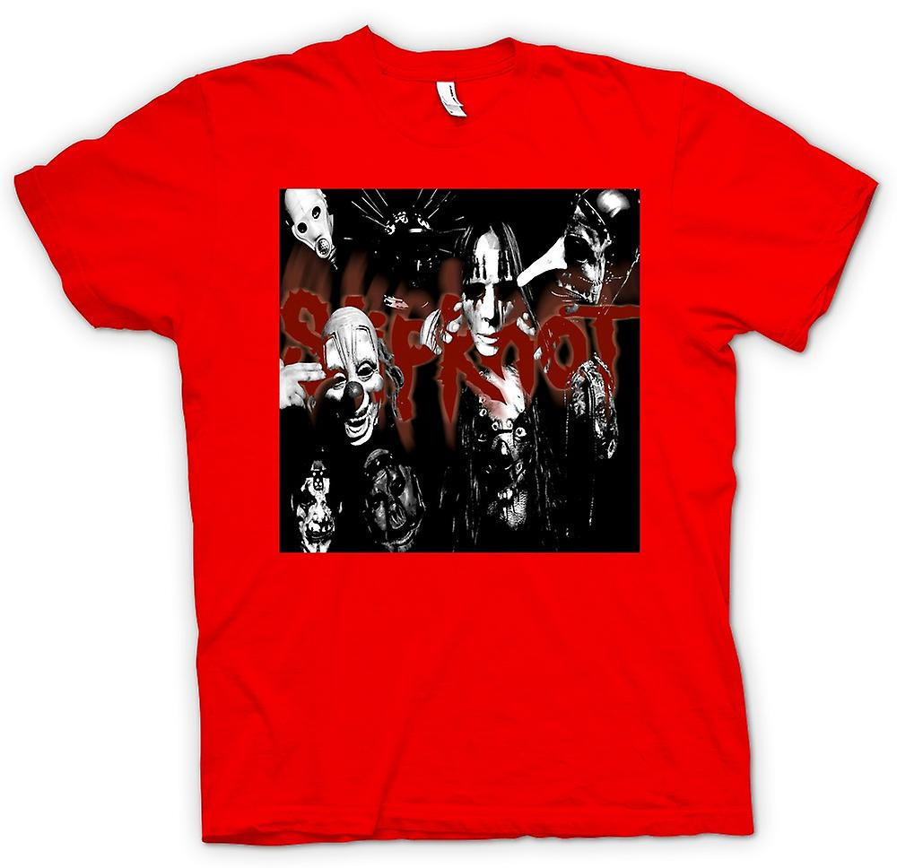 Herr T-shirt - Slipknot - Heavy Metal-bandet