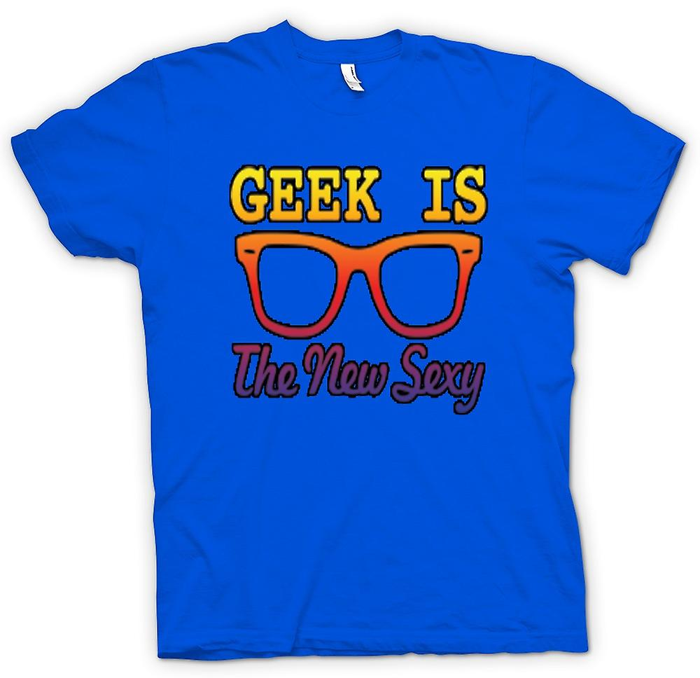 Mens t-shirt - Geek è il new Wayfarer Sexy