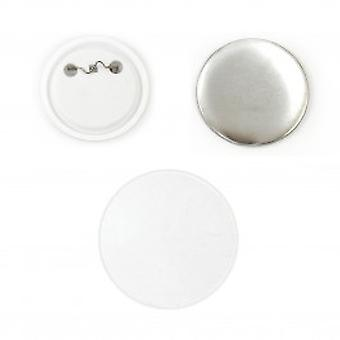 PixMax Badge Components for Pin Button Badge Pressing (100 Pack)