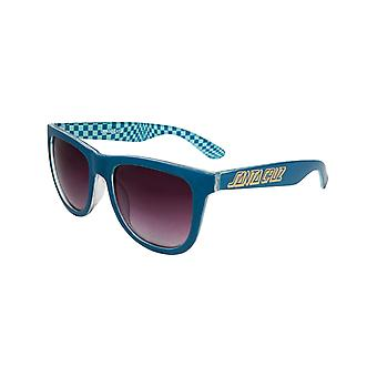 Santa Cruz Ink Blue-Check Fish Eye Sunglasses