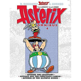 Asterix Omnibus 4: Asterix the Legionary, Asterix and the Chieftain's Shield, Asterix at the Olympic Games