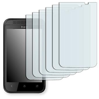HTC desire 200 screen protector - Golebo crystal clear protection film