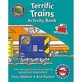 Amazing Machines Terrific Trains Activity Book (Amazing Machines)