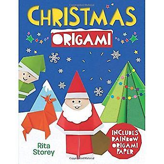 Origami de Noël: Un Guide étape par étape pour faire des maquettes en papier magnifique