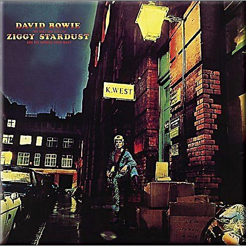 David Bowie Ziggy Stardust steel fridge magnet   (ro)