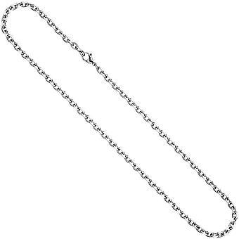 długie ze stali nierdzewnej naszyjnik łańcuch ze stali nierdzewnej 80 cm naszyjnik łańcuch karabińczykiem