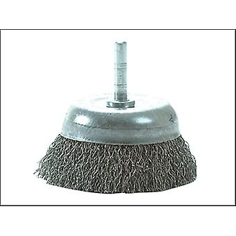 DIY STEEL WIRE CUP BRUSH 75MM X 0.35