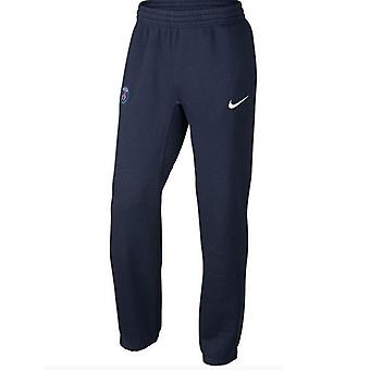 2015-2016 PSG Nike Core Fleece Cuff pantalon (marine)