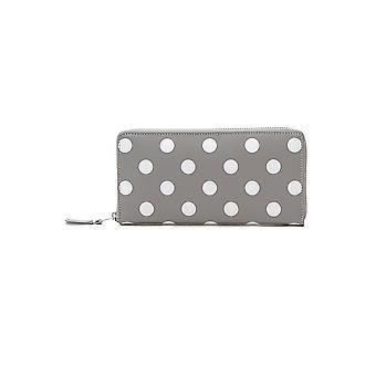 Comme Des Garçons Grey Leather Wallet
