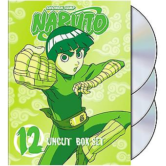 Naruto Uncut: Box Set 12 [DVD] USA import