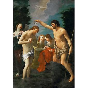 Baptism of Christ, Guido Reni, 60x42cm