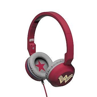 Tribe Wonder Woman Movie Foldable Headphones