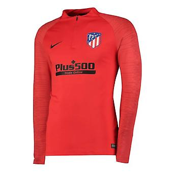2019-2020 Atletico Madrid Nike Drill Training Top (Red)