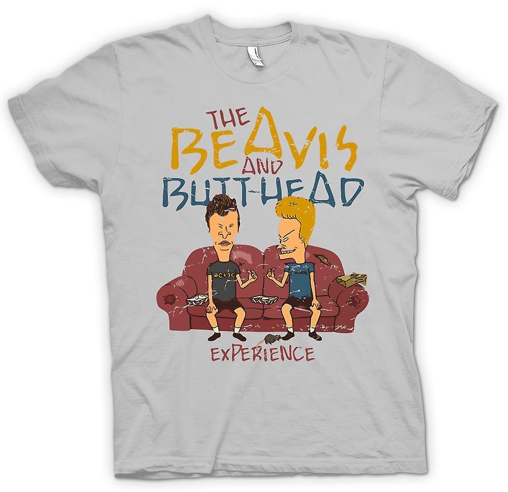 Herr T-shirt - Beavis och Butthead erfarenhet - Funny