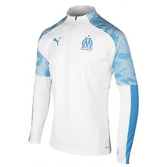 af7915e26 2019-2020 Marseille Quarter Zip Training Top (White)